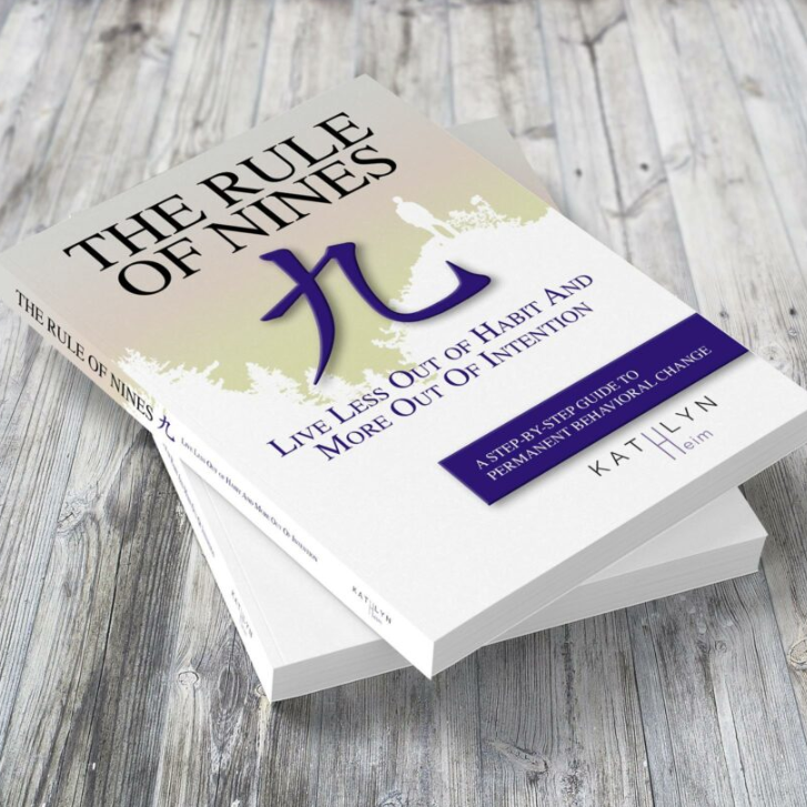 the rule of nines book about self-discovery and change of habits by life coach kathlyn heim